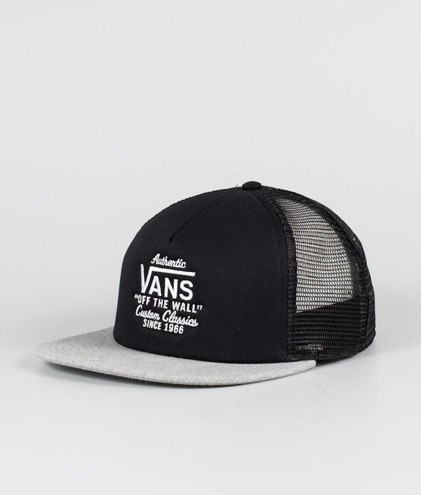 Vans Galer Trucker Caps Black/Heather Grey