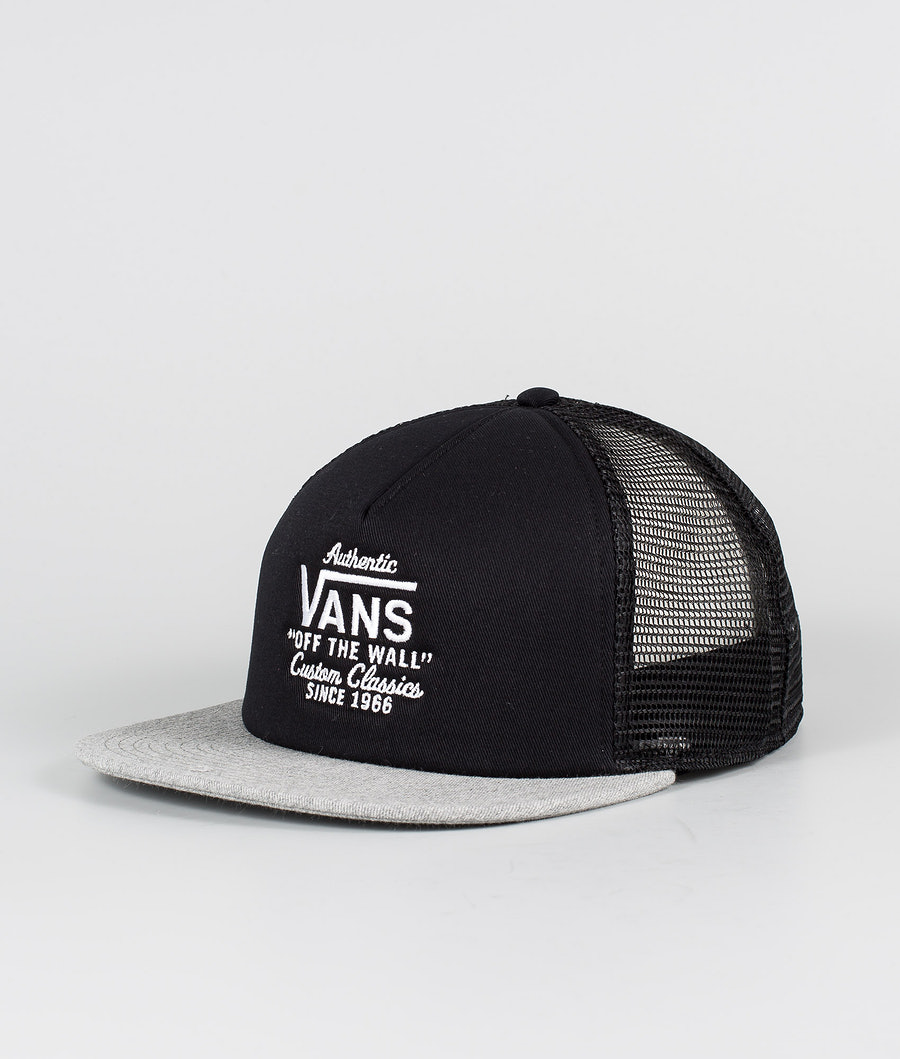 Vans Galer Trucker Lippis Black/Heather Grey