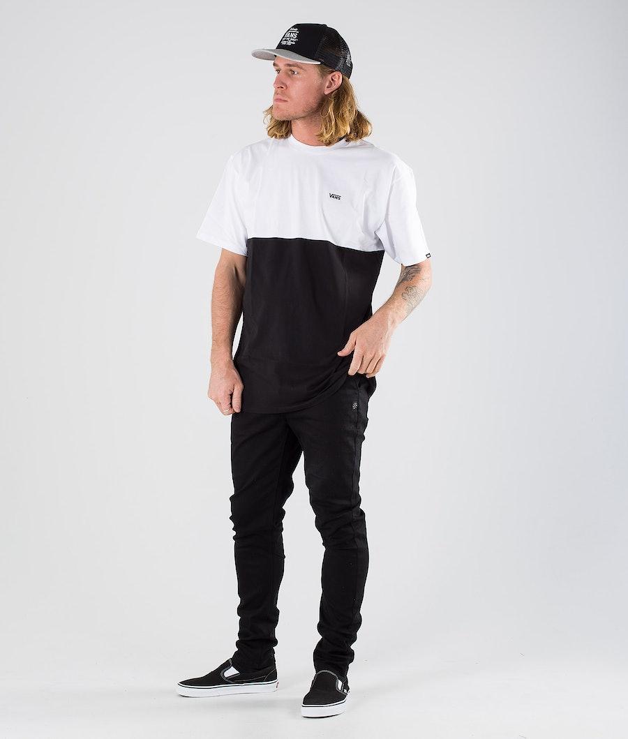 Vans Colorblock Tee T-shirt Black/White
