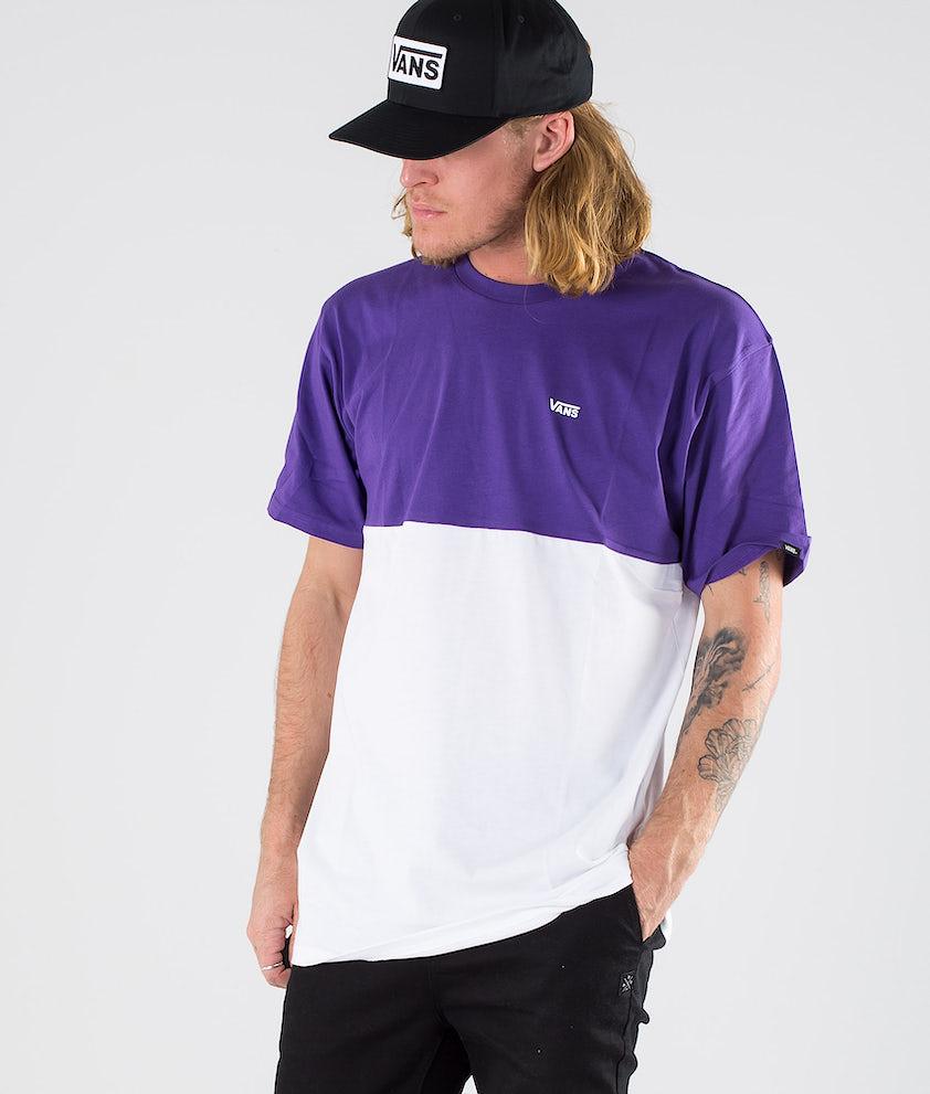 Vans Colorblock Tee T-shirt White/Heliotrope