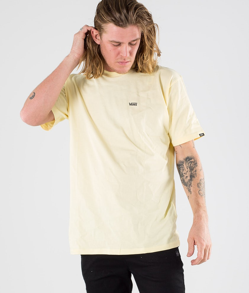 Vans Left Chest Logo Tee T-shirt Double Cream/Black