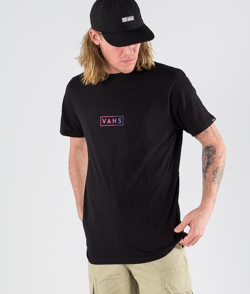 Vans Easy Box SS T-shirt Black/Fuchsia Purple