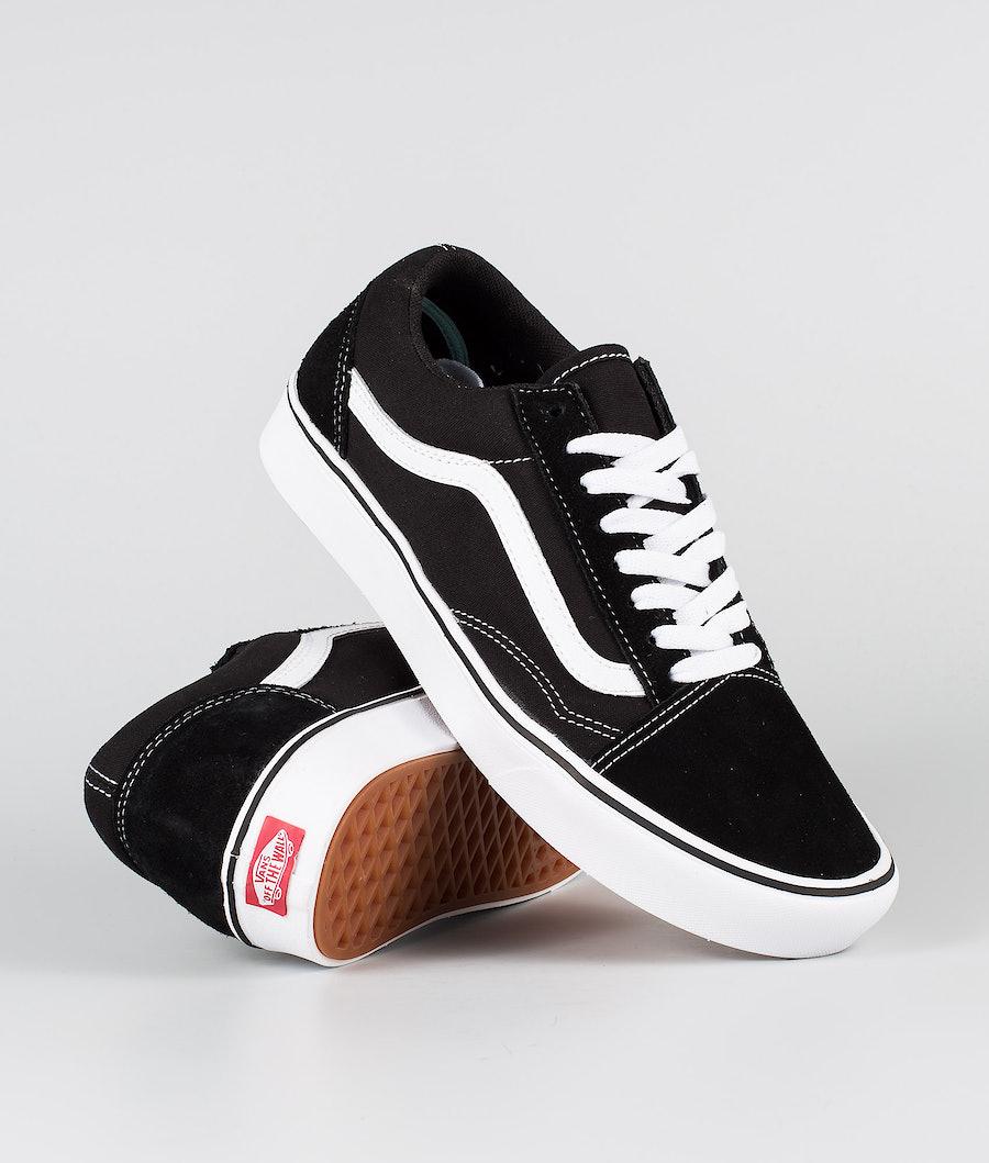 Vans ComfyCush Old Skool Schoenen (Classic) Black/True White