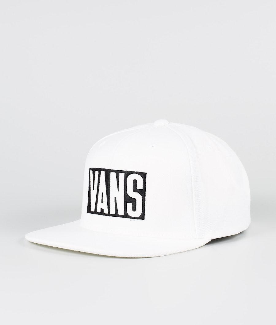 Vans New Stax Snapback Keps White