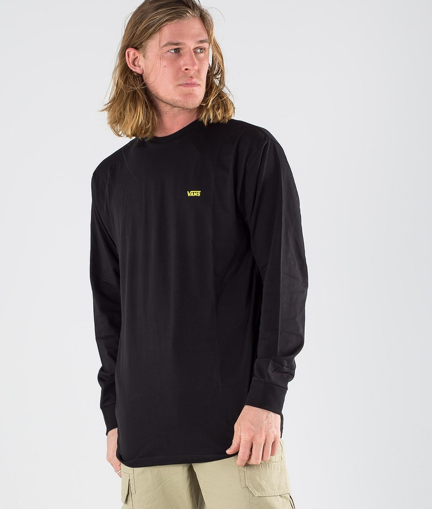 Vans Left Chest HIT Longsleeve Black/Sulphur Spring