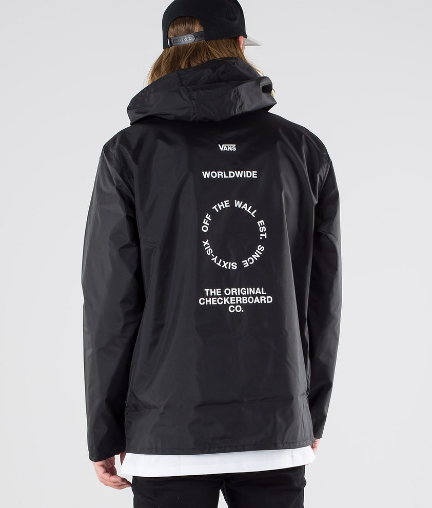 Vans Distort Type Anorak Jakke Black