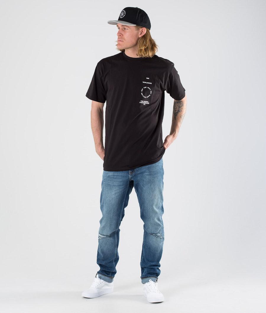 Vans Distortion Type SS T-shirt Black