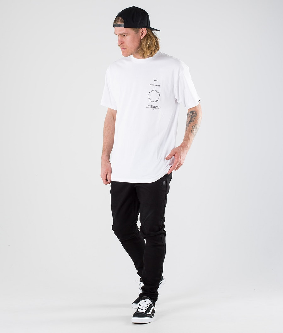 Vans Distortion Type SS T-shirt White