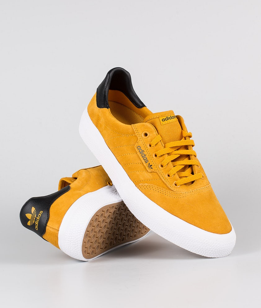 Adidas Skateboarding 3MC Sko  Technical Yellow/Core Black/Footwear White