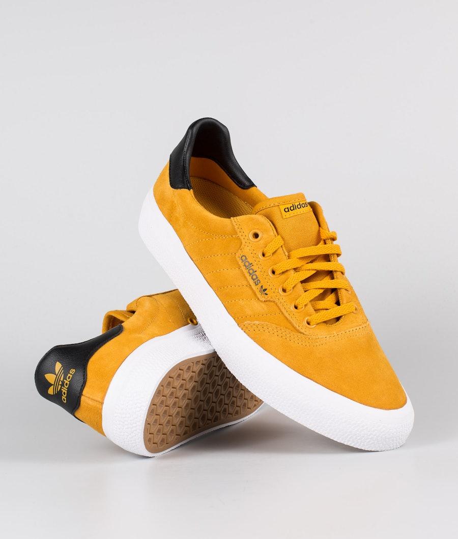 Adidas Skateboarding 3MC Sko  Technical Yellow/Core Black/Footwear White