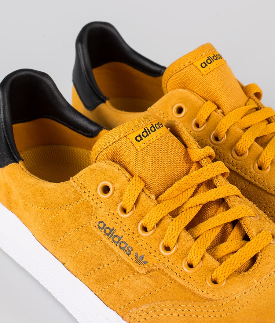 Adidas Skateboarding 3MC Skor Technical Yellow/Core Black/Footwear White