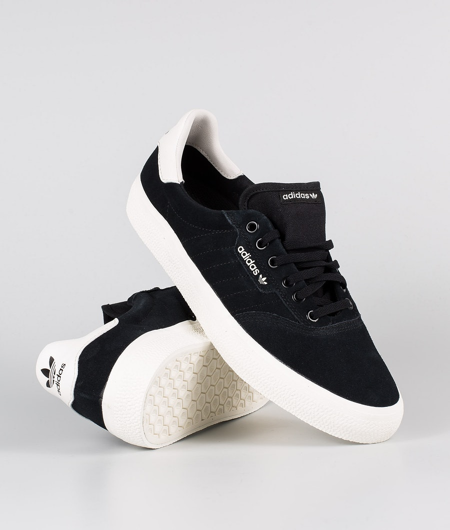 Adidas Skateboarding 3MC Shoes  Core Black/Cloud White/Cloud White