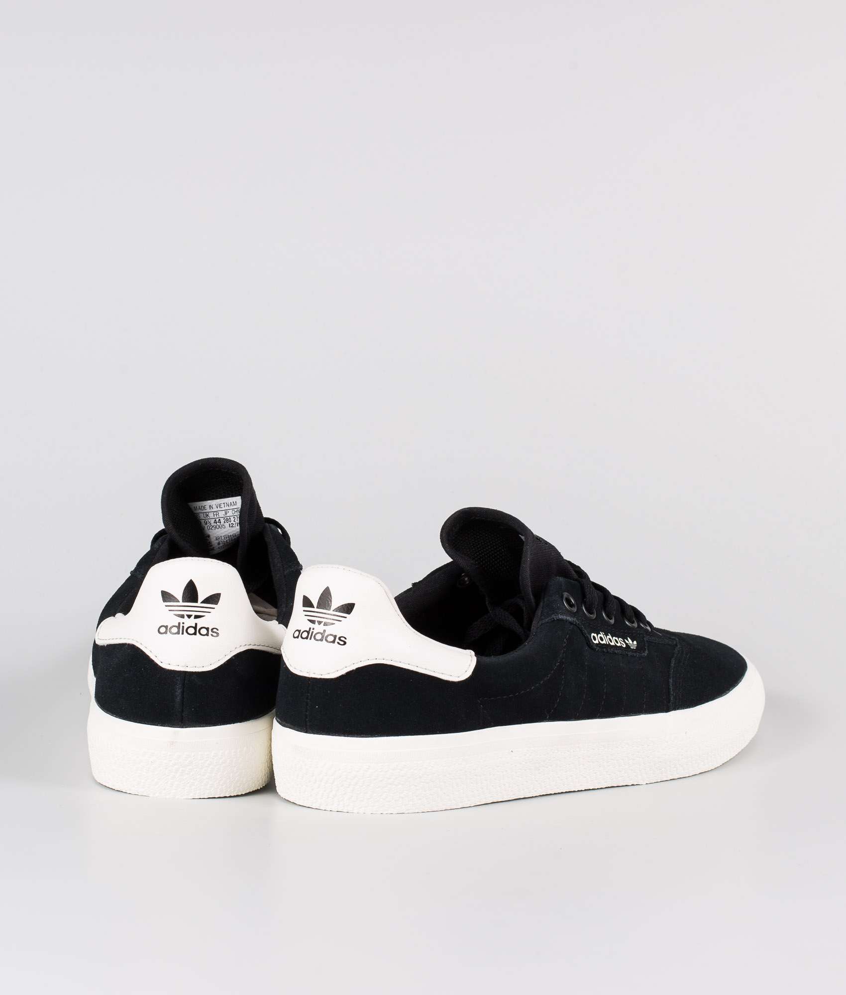 Adidas Skateboarding 3MC Shoes Core BlackCloud WhiteCloud White