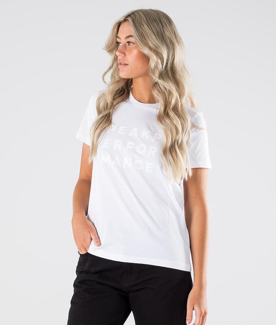 Peak Performance Ground Tee 1 T-Shirt White