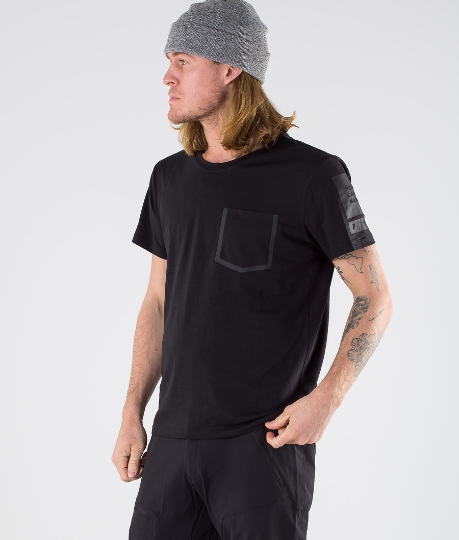 Peak Performance 2.0 Tech Tee T-shirt Black