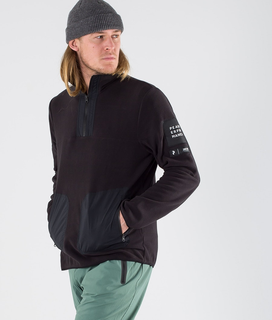 Peak Performance Tech TN Fleecetröja Black
