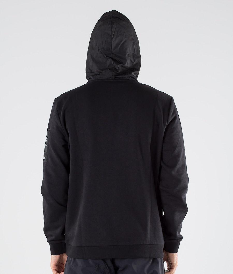 Peak Performance 2.0 Woven/Jersey Hoodie Hood Black