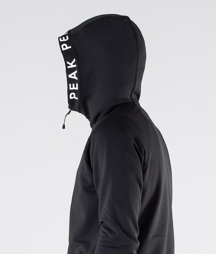 Peak Performance Rider Zip Hoodie Black