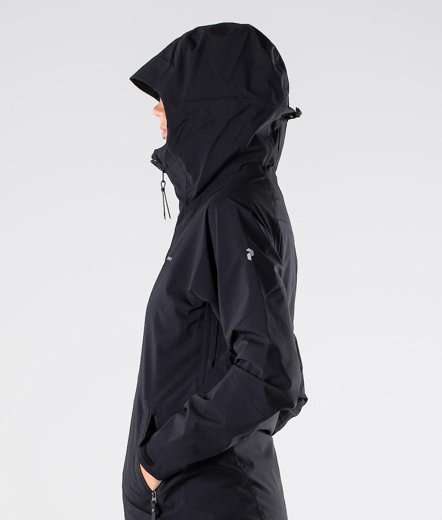 Peak Performance Nightbreak Women's Outdoor Jacket Black