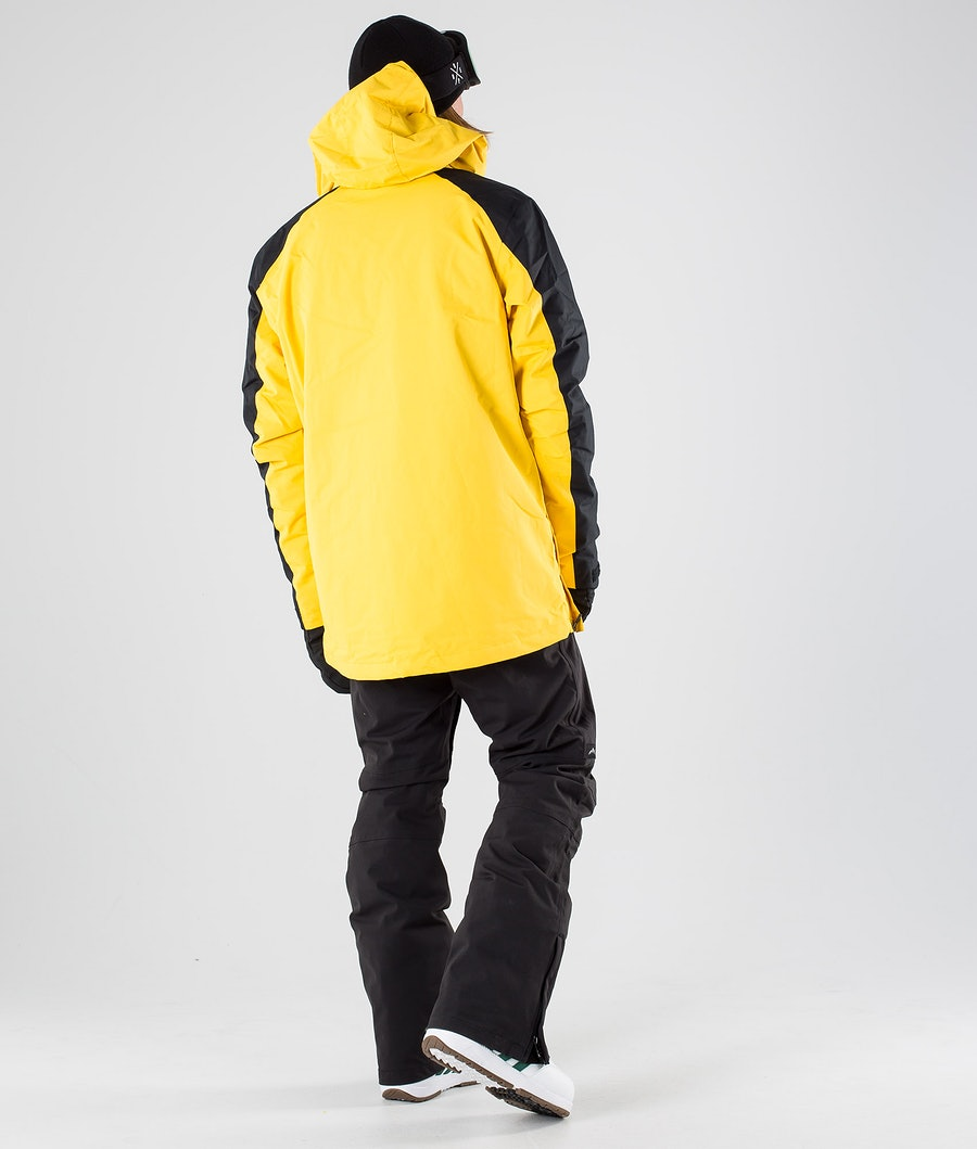 WearColour Wear Anorak Giacca da Snowboard Daffodil