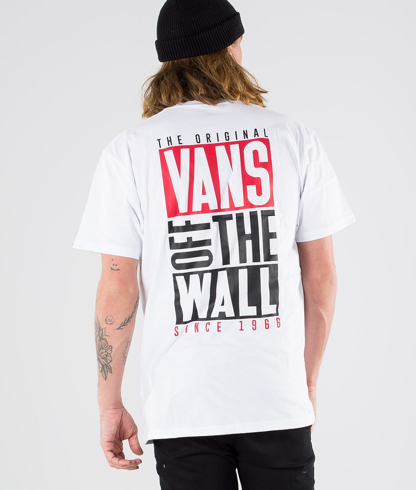 Vans New Stax SS T-shirt White