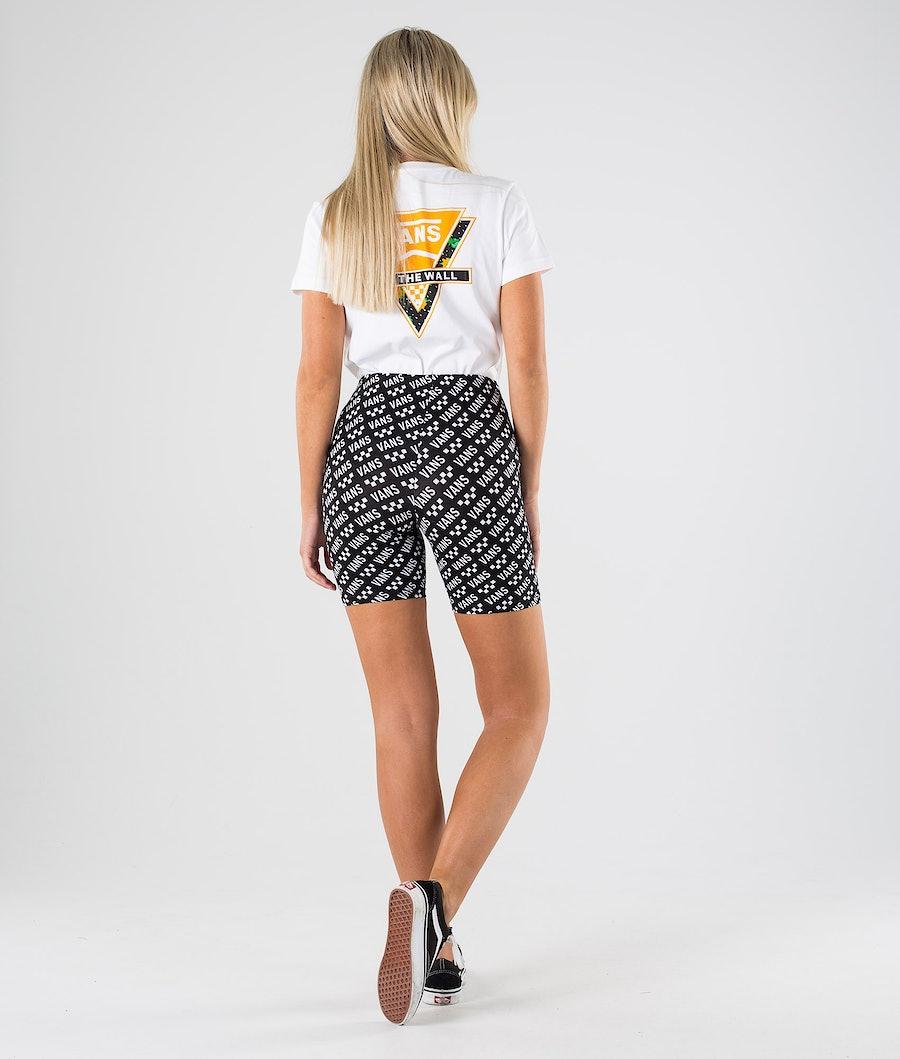 Vans Brand Striper Bike Shorts Dame Brand Striper