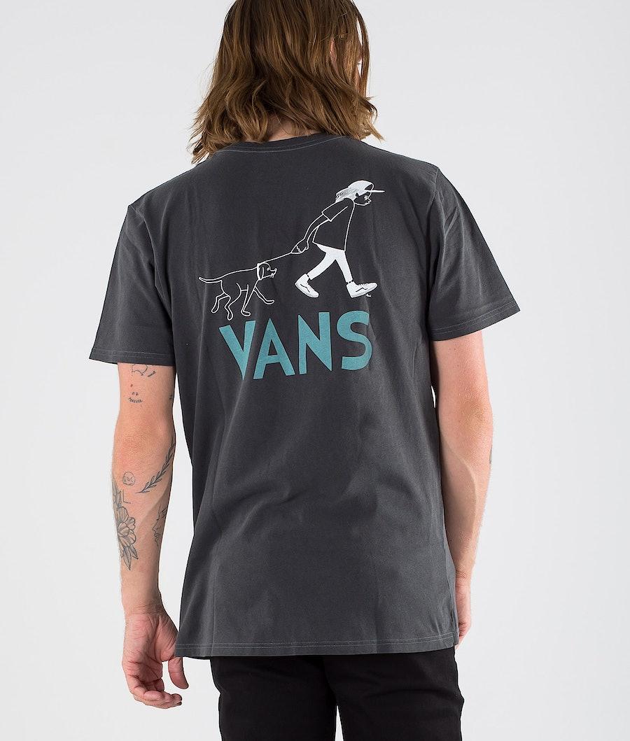 Vans Love Waffle Vintage Overdye Pkt Ss T-Shirt Black