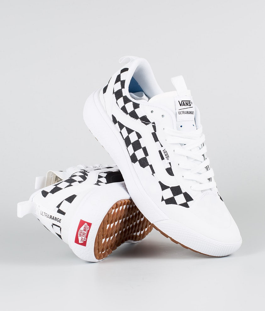 Vans UltraRange EXO Chaussures (Checkerboard) True White/Black