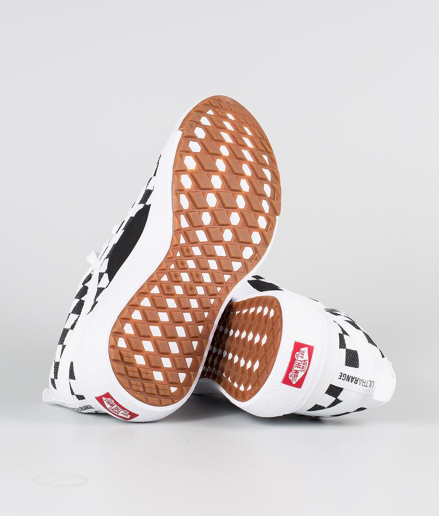 Vans UltraRange EXO Sko (Checkerboard) True White/Black