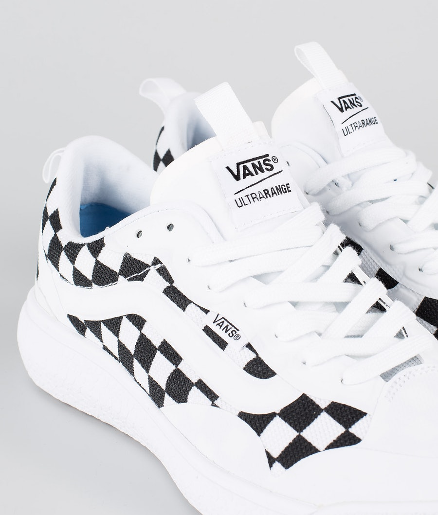 Vans UltraRange EXO Skor (Checkerboard) True White/Black