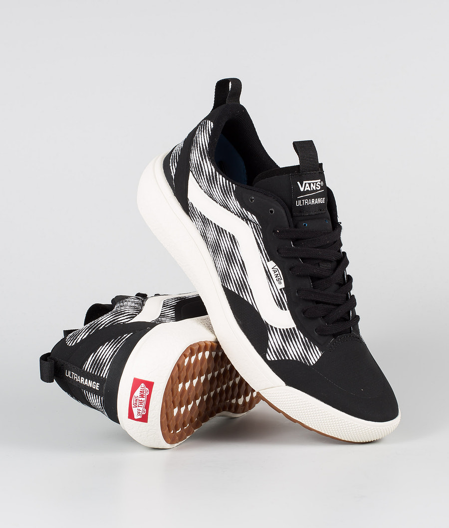 Vans UltraRange EXO Kengät (Blur Checker)Black/Marshmelow