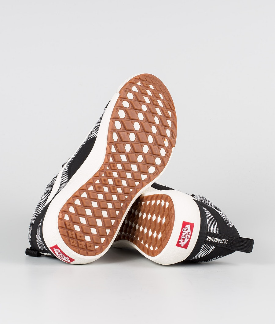Vans UltraRange EXO Shoes (Blur Checker)Black/Marshmelow