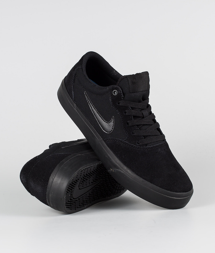 Nike SB Chron SLR Shoes Black/Black-Black-Black