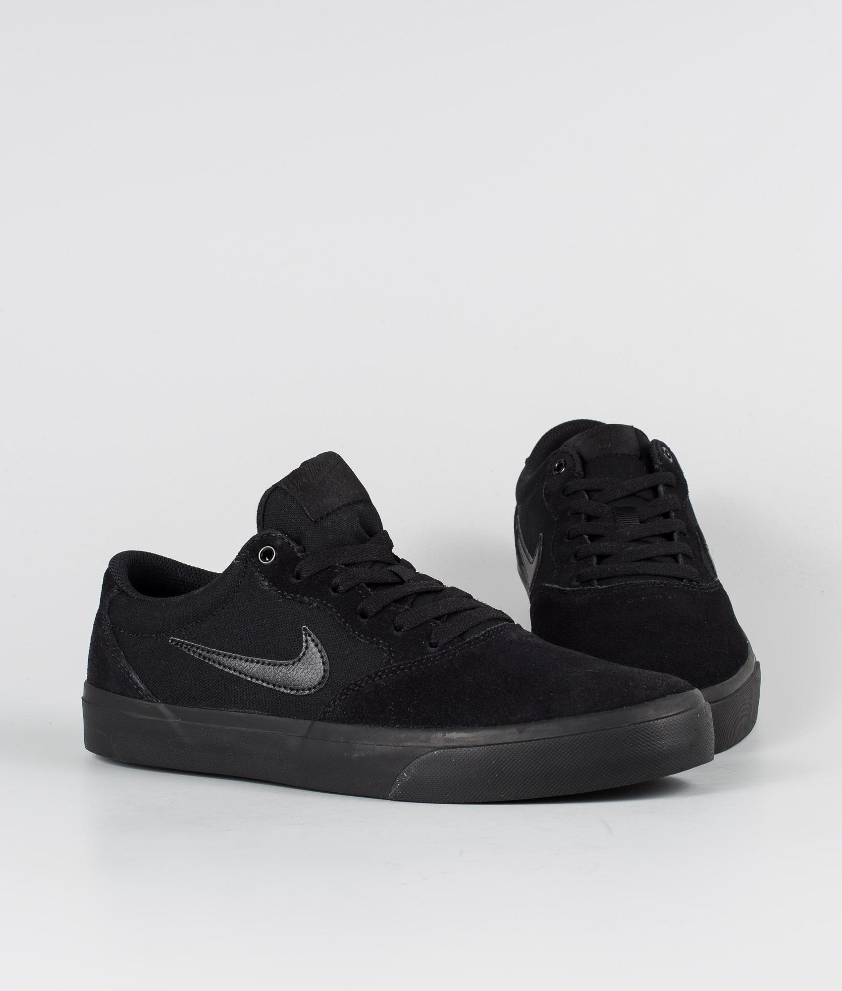 Nike SB Chron SLR Chaussures BlackBlack Black Black