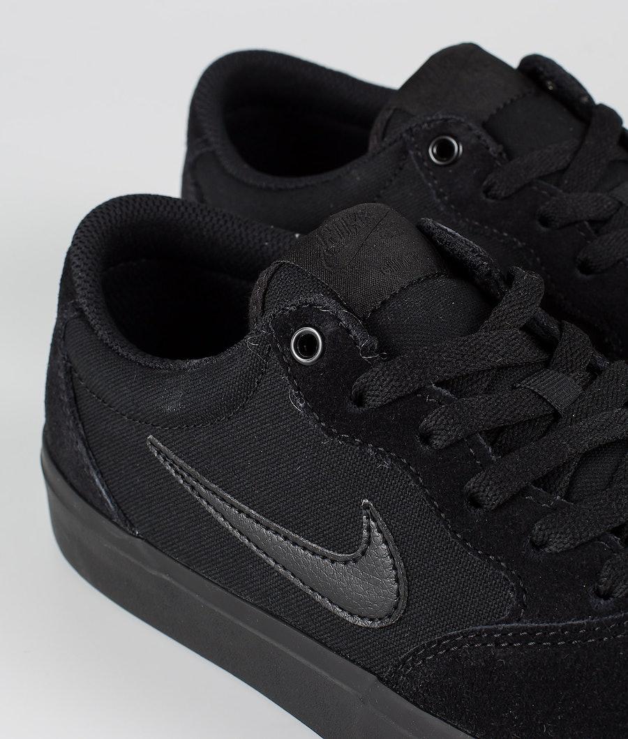 Nike SB Chron SLR Skor Black/Black-Black-Black