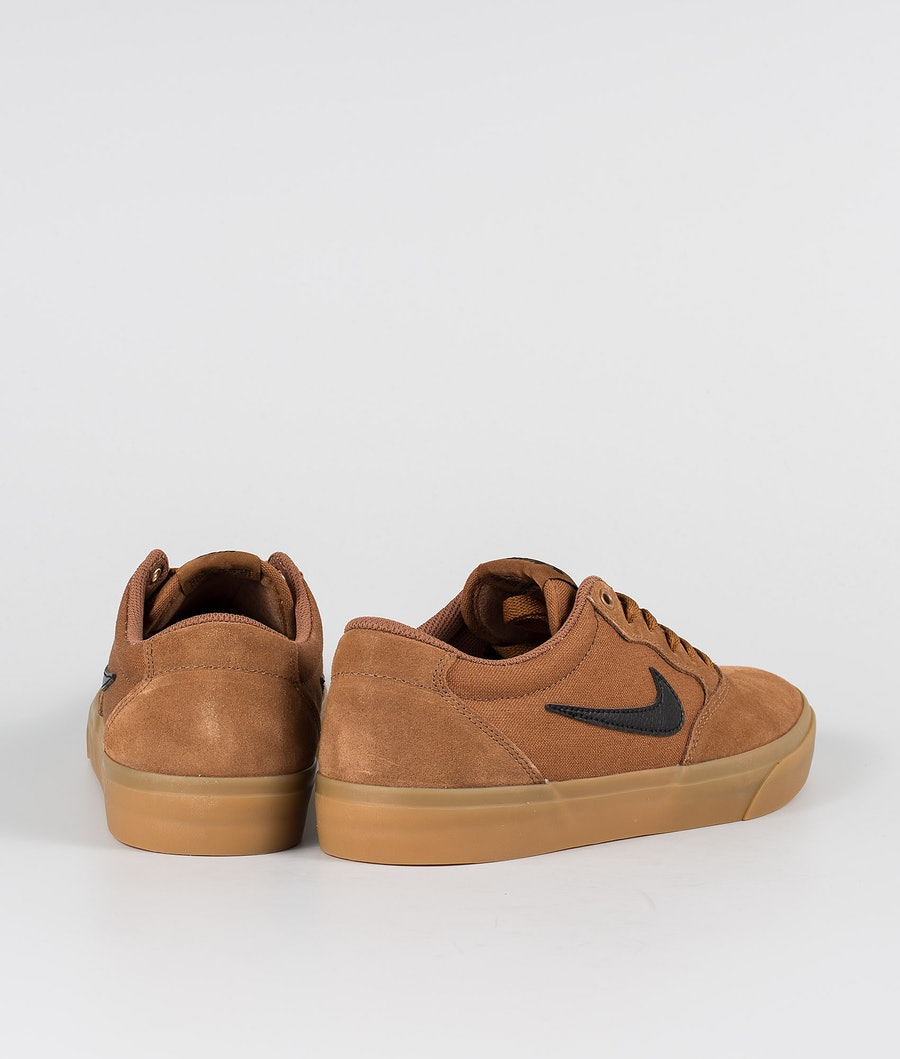 Nike SB Chron SLR Skor Lt British Tan/Black Gum Light Brown
