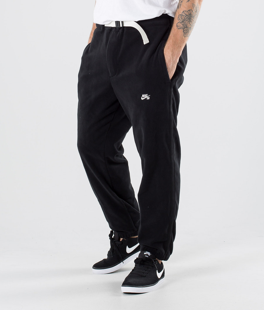 Nike SB Novelty Fleece Pants Black/Sail