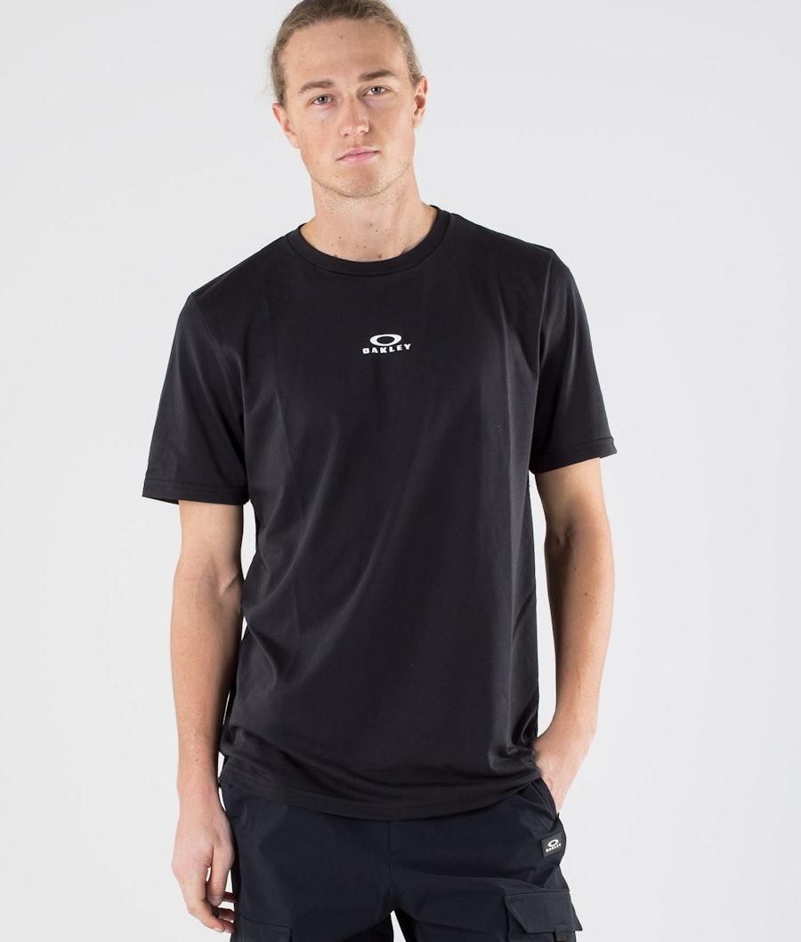 Oakley Bark New T-paita Blackout