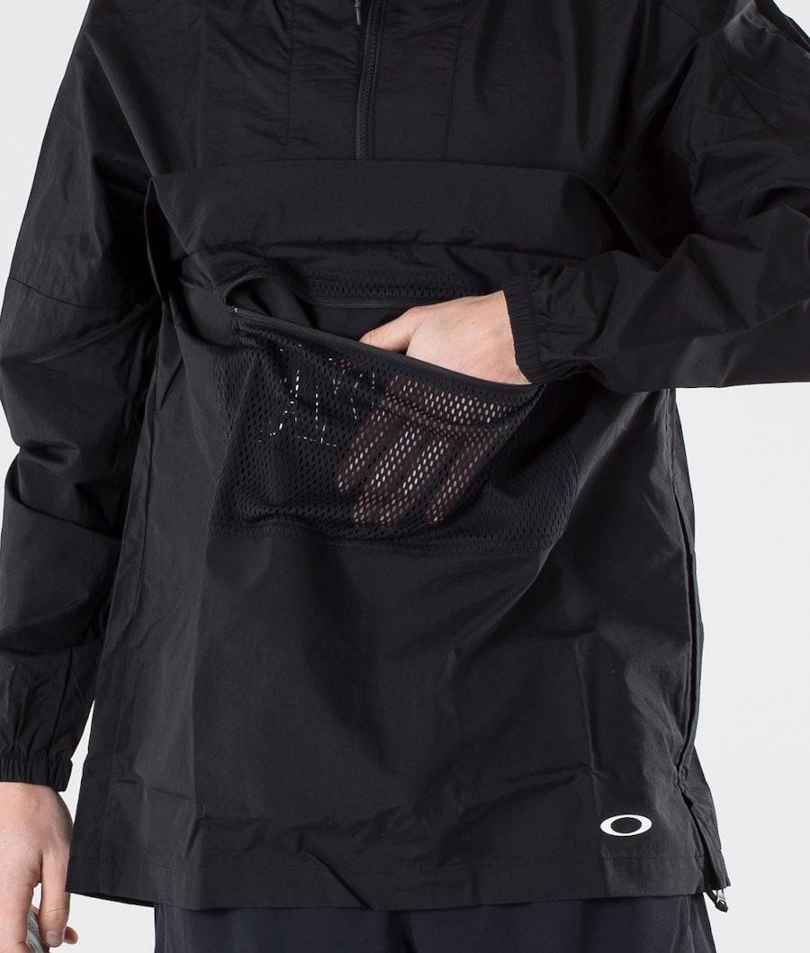 Oakley Enhance Wind Anorak Jacket 3.0 Jacka Blackout