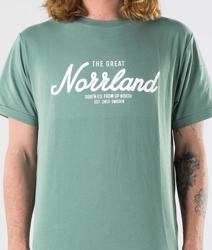 SQRTN Great Norrland T-shirt Pale Green
