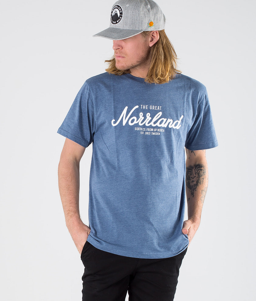 SQRTN Great Norrland T-shirt Blue Heather