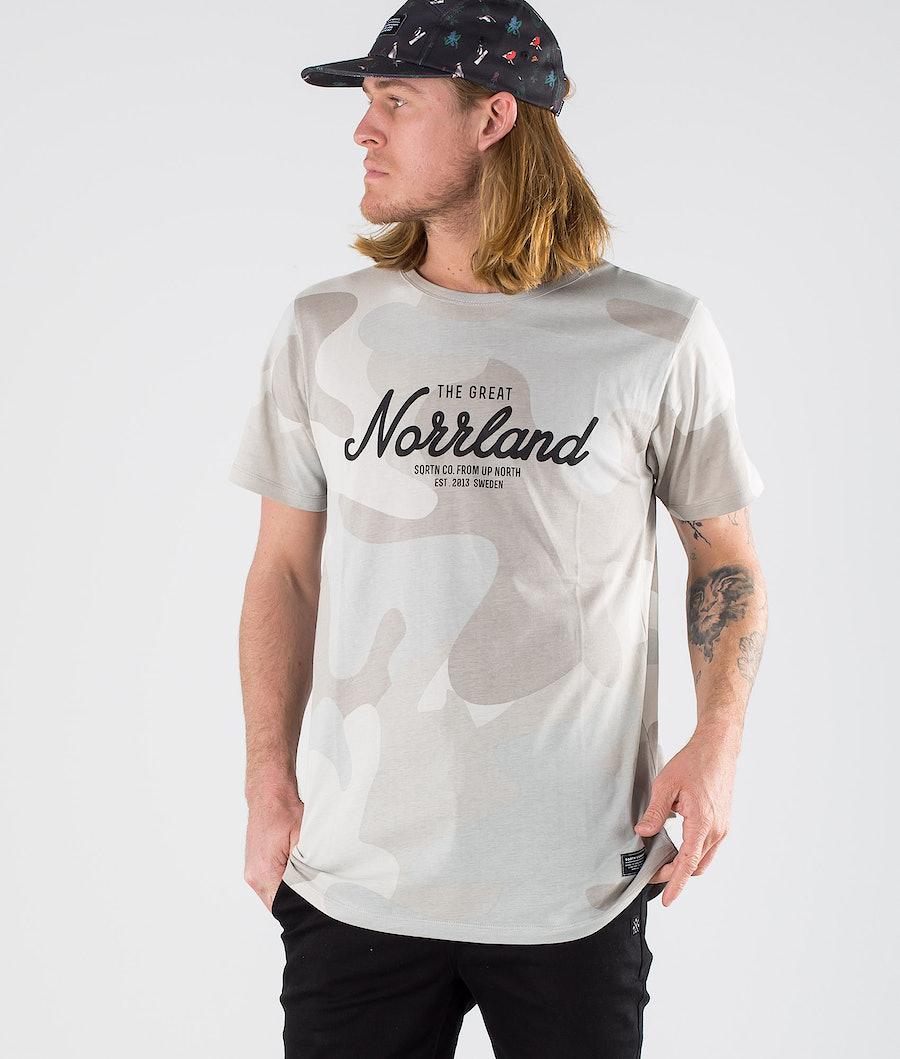 SQRTN Great Norrland T-shirt SMU Grey Camo