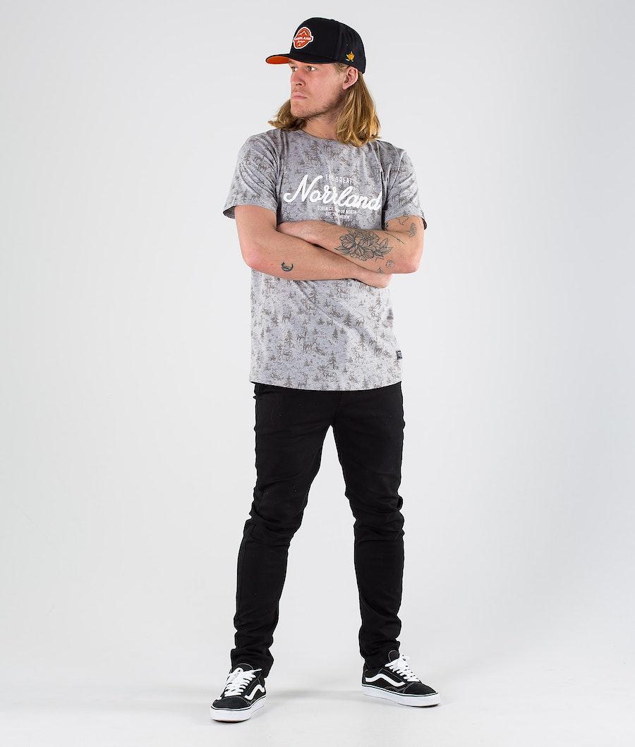 SQRTN Great Norrland T-shirt Skog Heather
