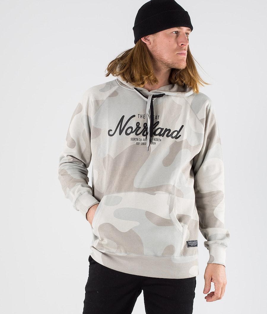 SQRTN Great Norrland Hoodie SMU Grey Camo