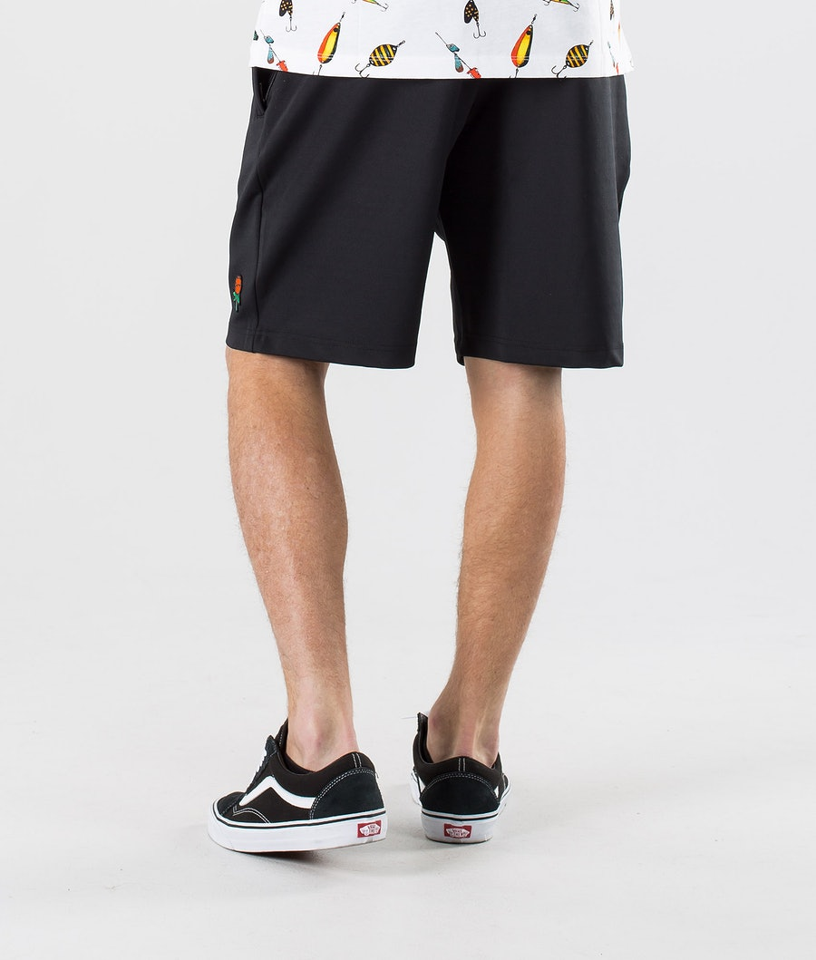 SQRTN CB Sketch Shorts Black