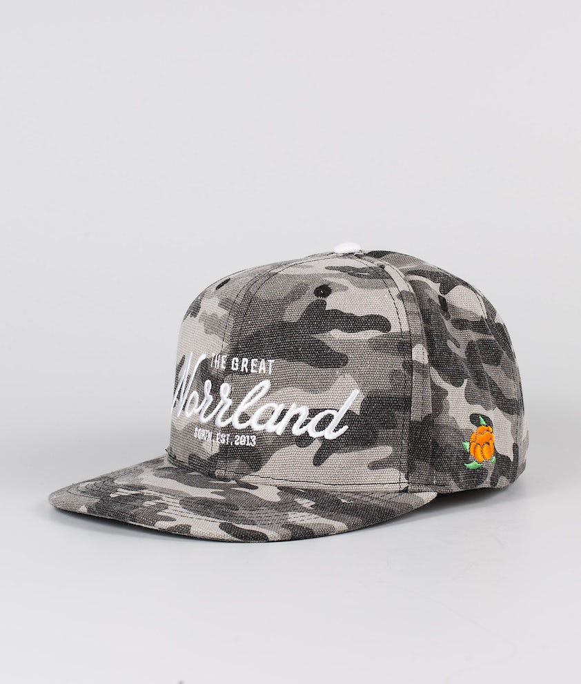 SQRTN Great Norrland Caps Grey Camo