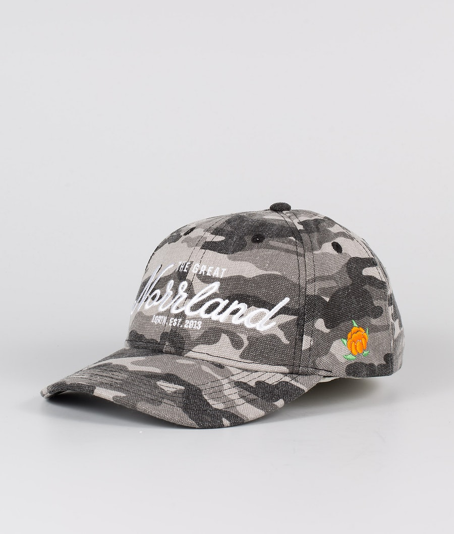SQRTN Great Norrland Hooked Caps Grey Camo