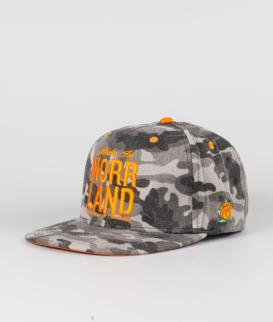 SQRTN Made In Caps Grey Camo