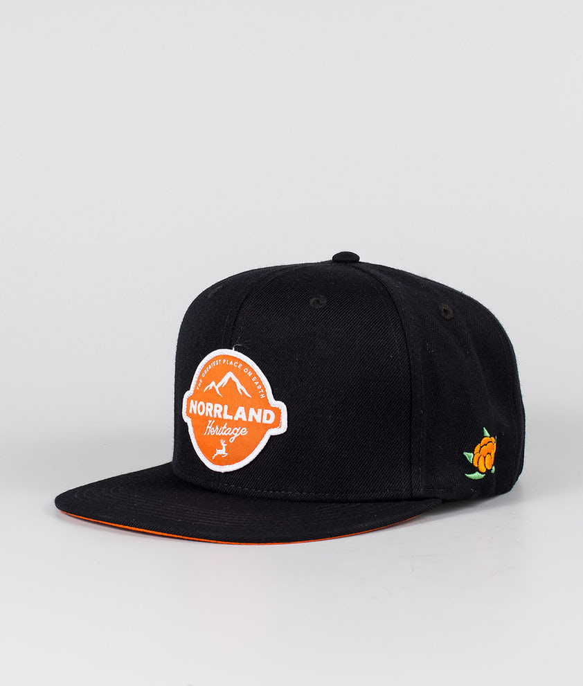SQRTN Reindeer Patch Caps Black