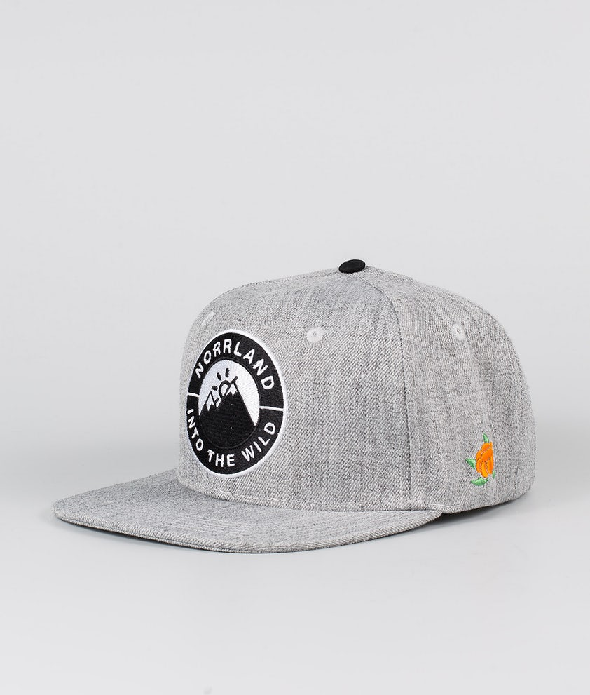 SQRTN Into Emblem Caps Grey